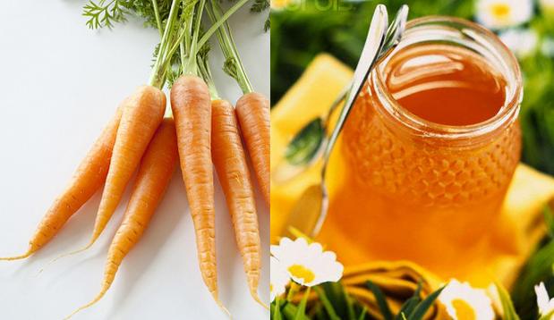 cà rốt mật ong