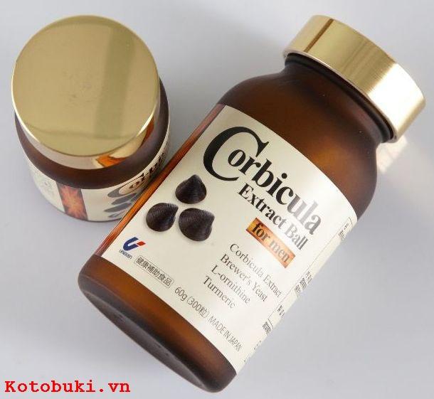 thuốc giải độc gan tốt nhất corbicula