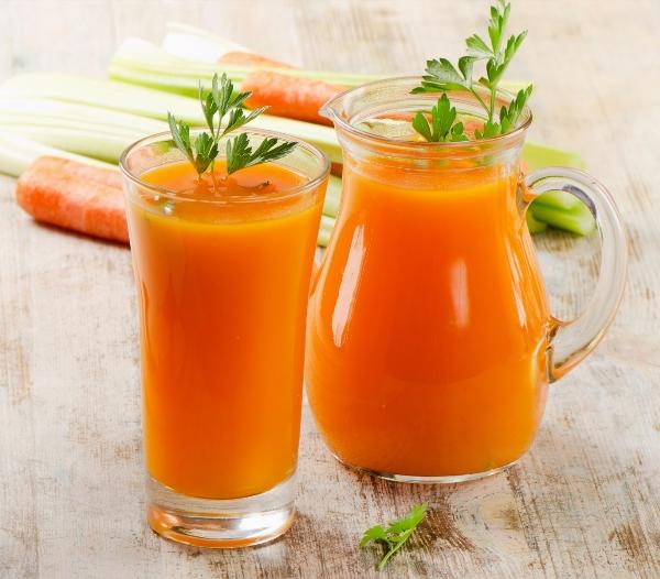 cách giải đọc gan tốt nhất tại nhà với cà rốt