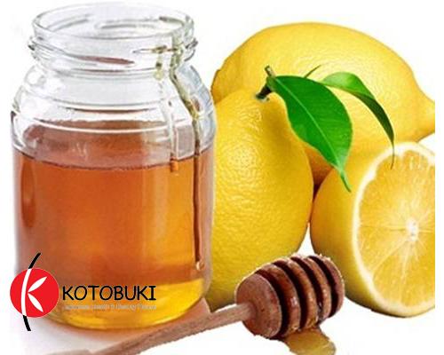 cách trị thâm mụn với mật ong và chanh