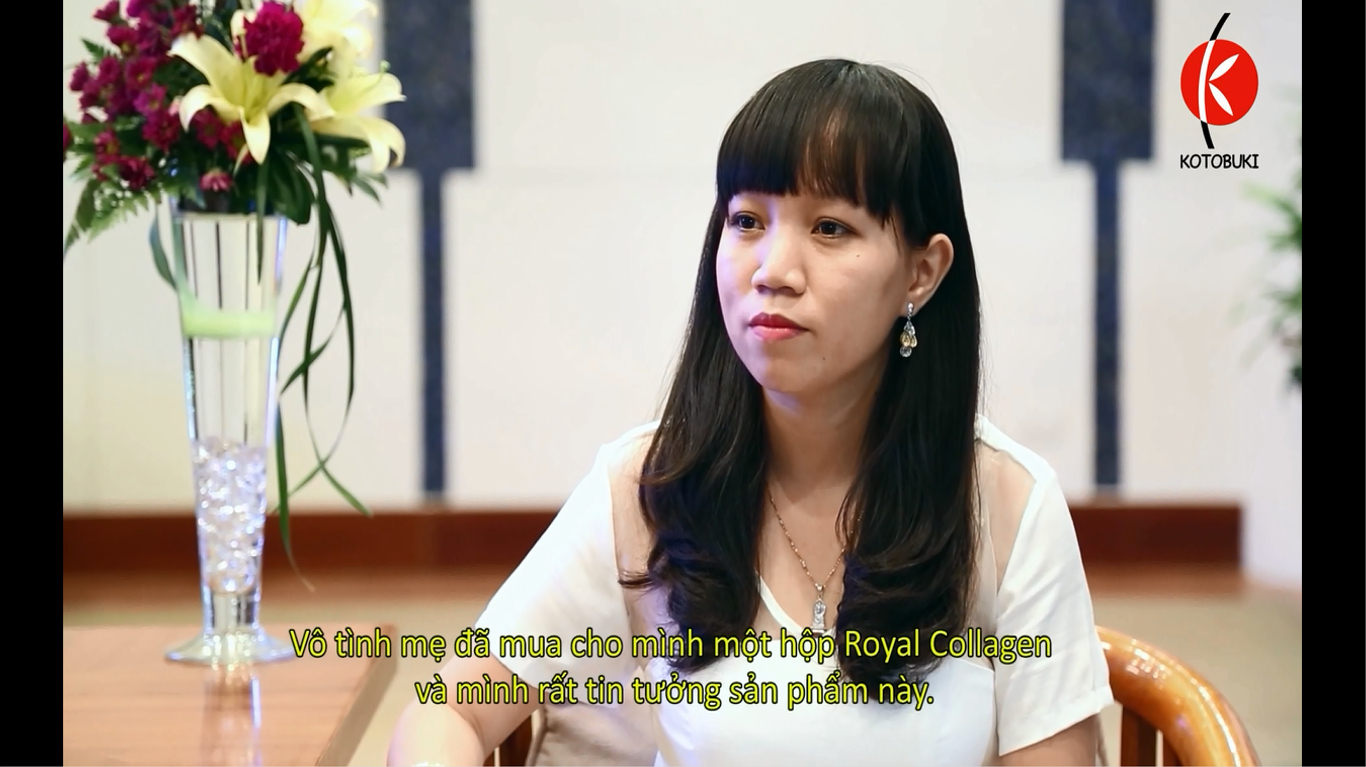 Royal Collagen - Làm da hết sạm